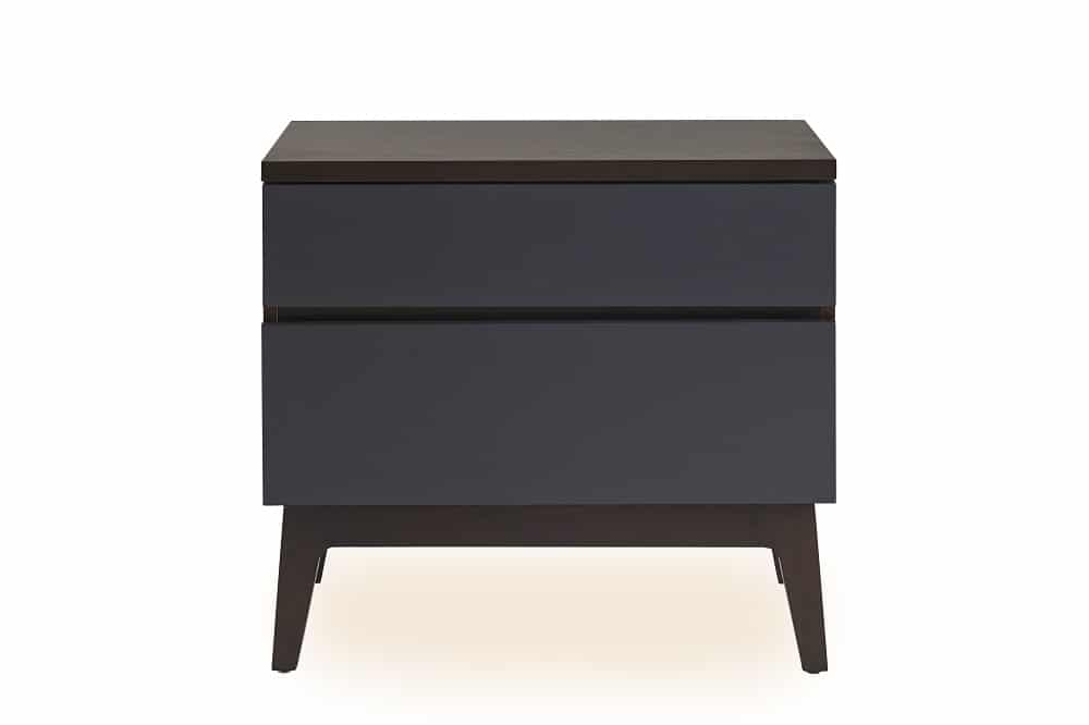 Serra Walnut Bedside Chest
