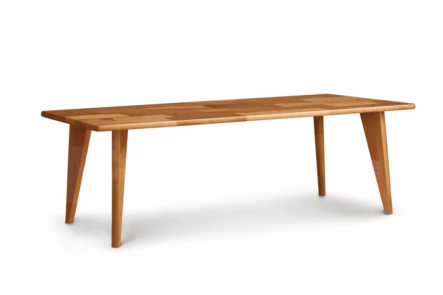 Essentials Bench With Wood Legs