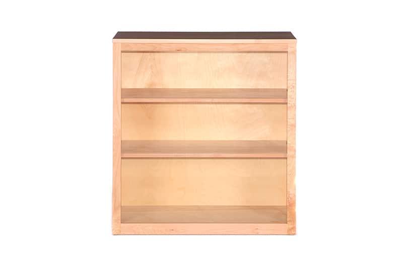 Willamette Storage Maple Bookcases