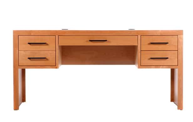 Modern 4 Drw Executive Desk