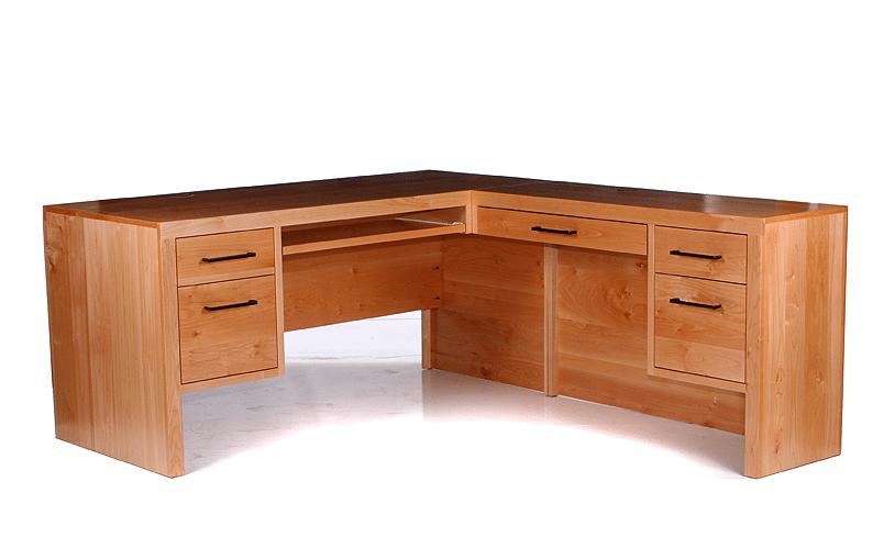 Modern 6 Drw L Desk