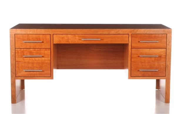 Modern 5 Drw Executive Desk