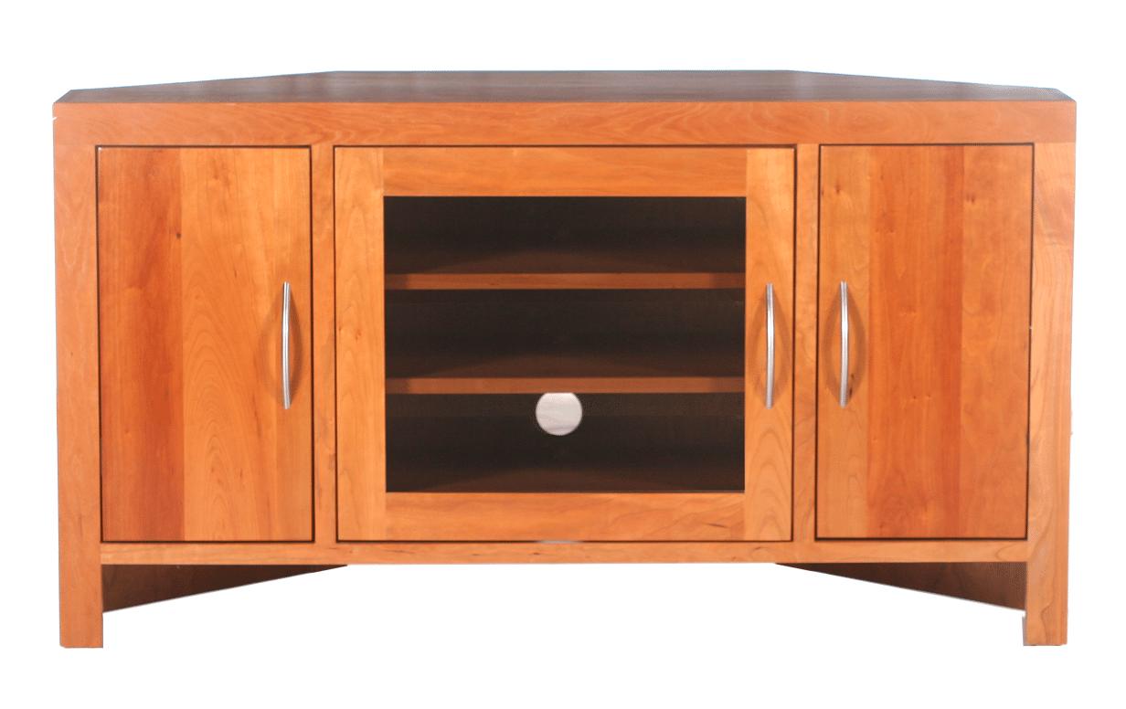Modern 48″ Corner TV Console