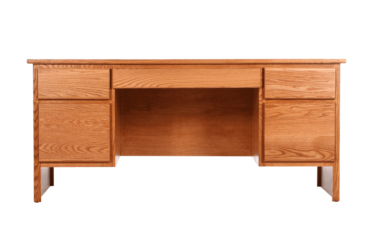 Classic 5 Drw Executive Desk