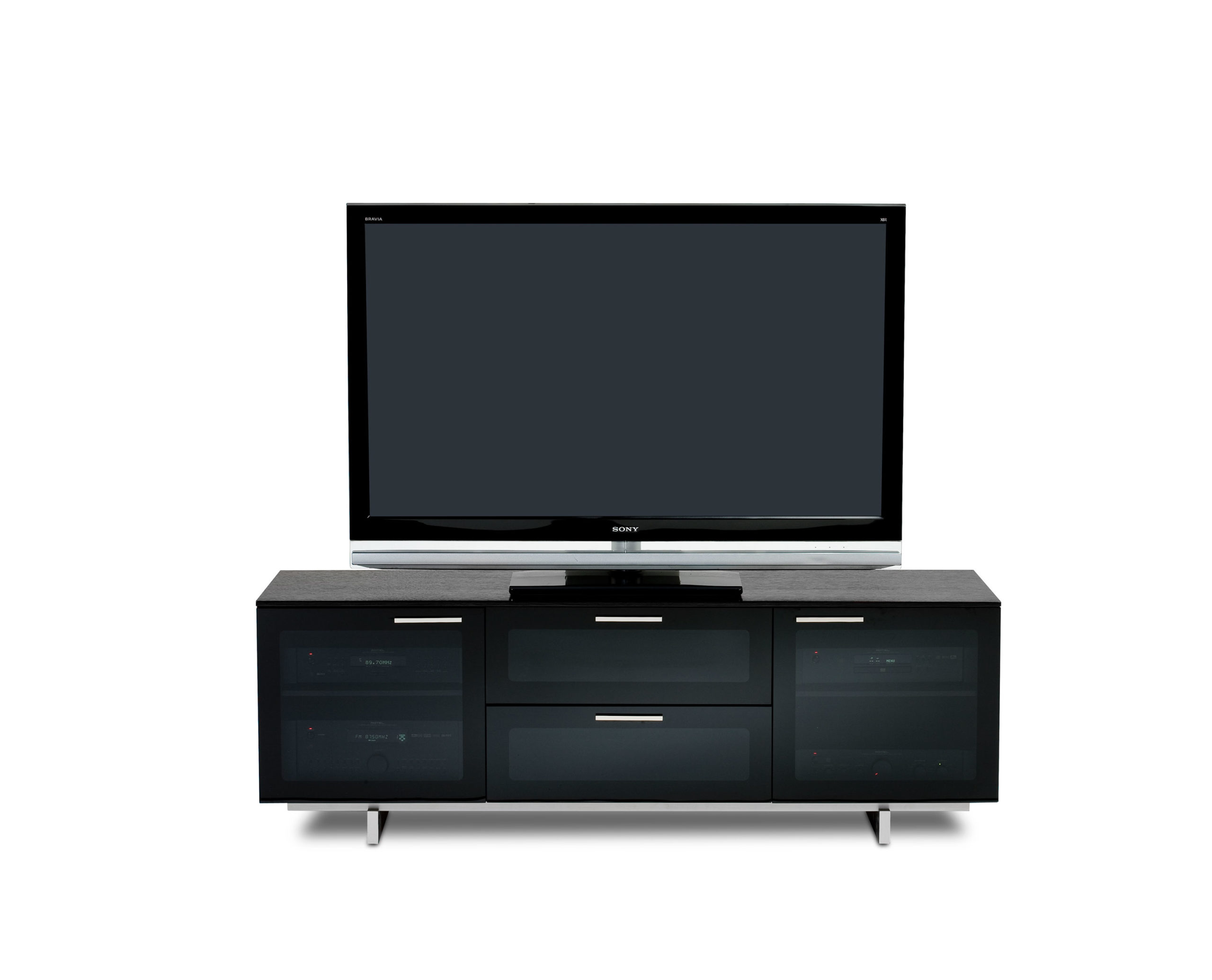 Avion Noir 8937 Black Media Console & TV Stand | BDI Furniture