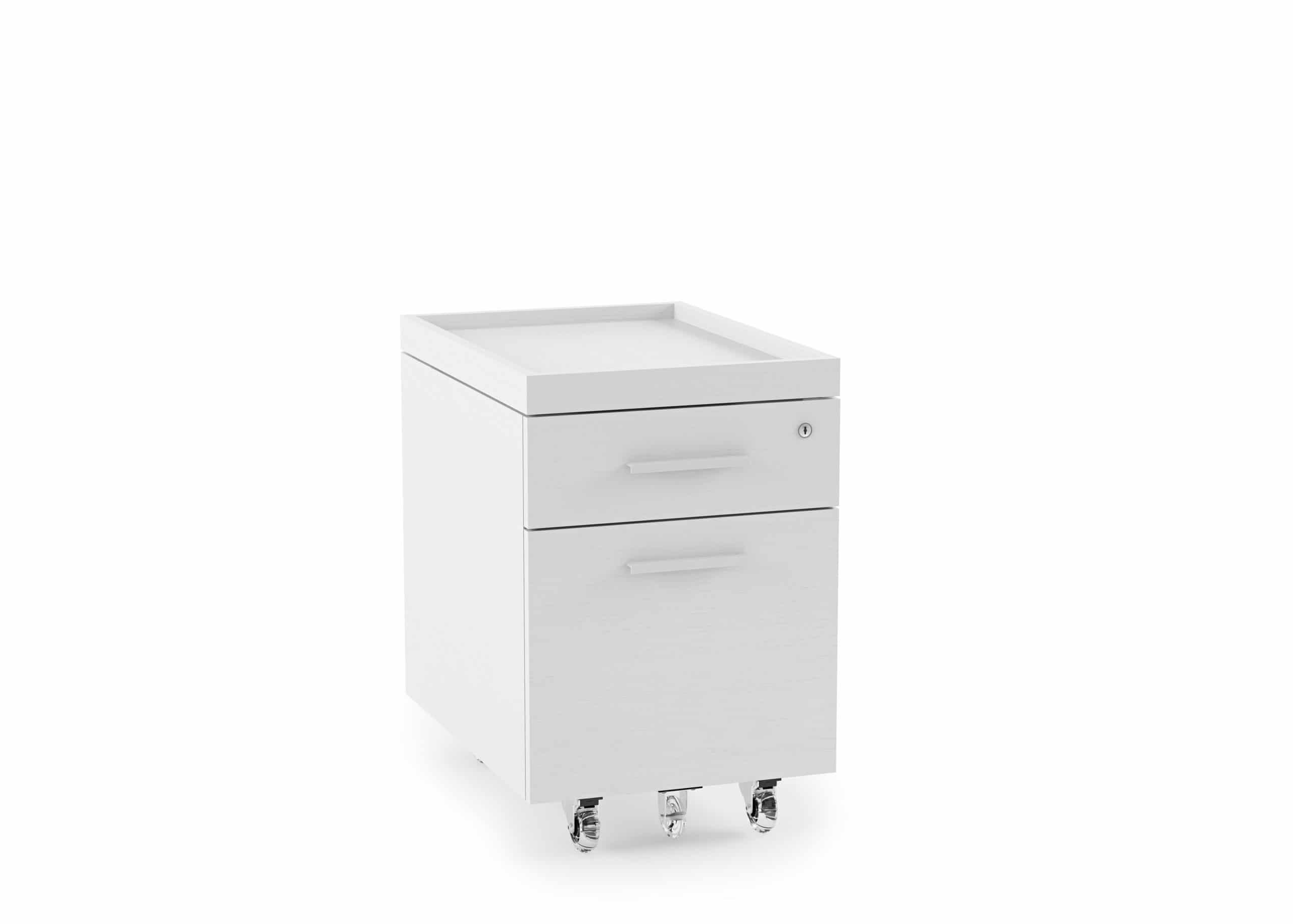 Centro 6407 Mobile Storage & File Pedestal | BDI Furniture