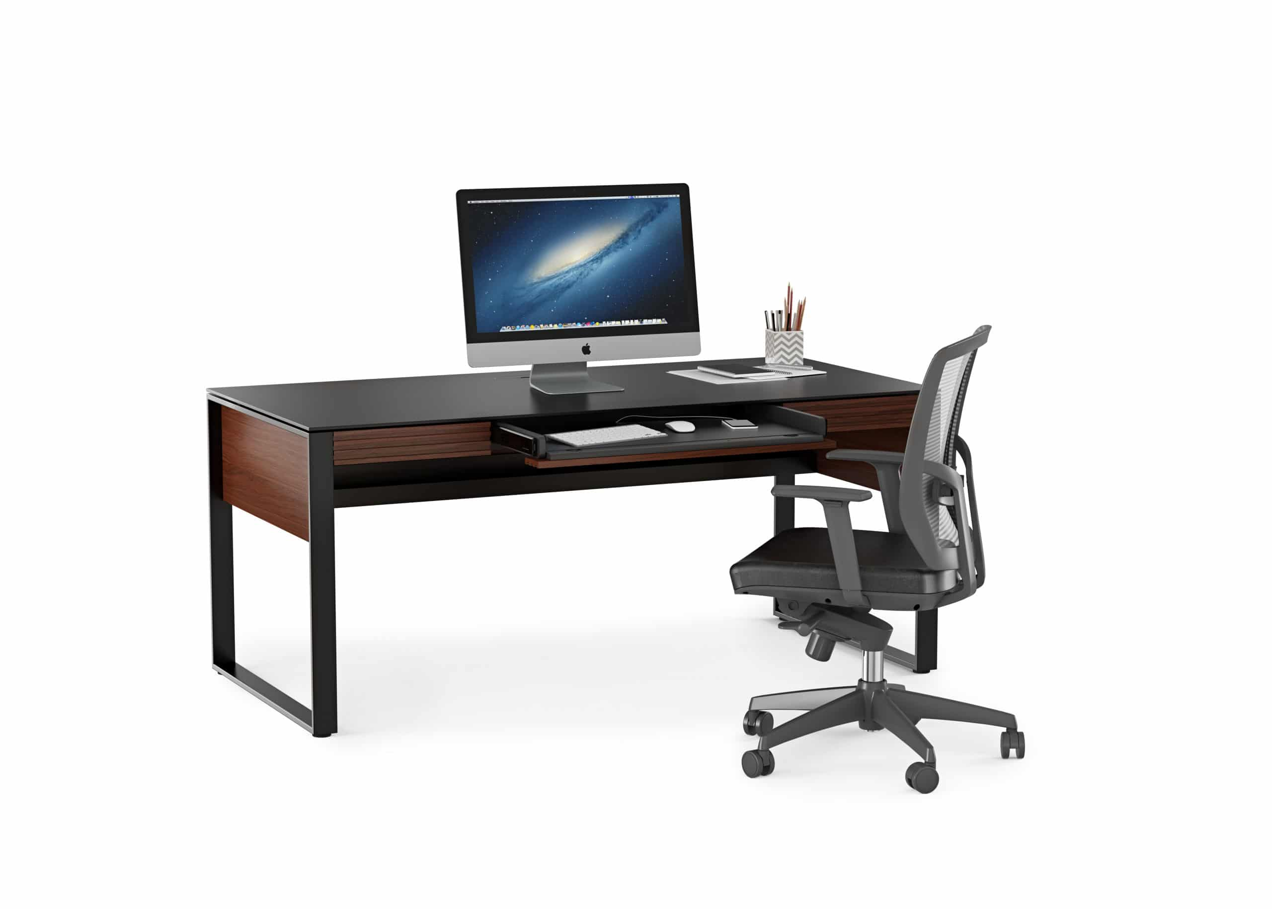 Corridor 6521 Modern Executive Office Desk | BDI Furniture