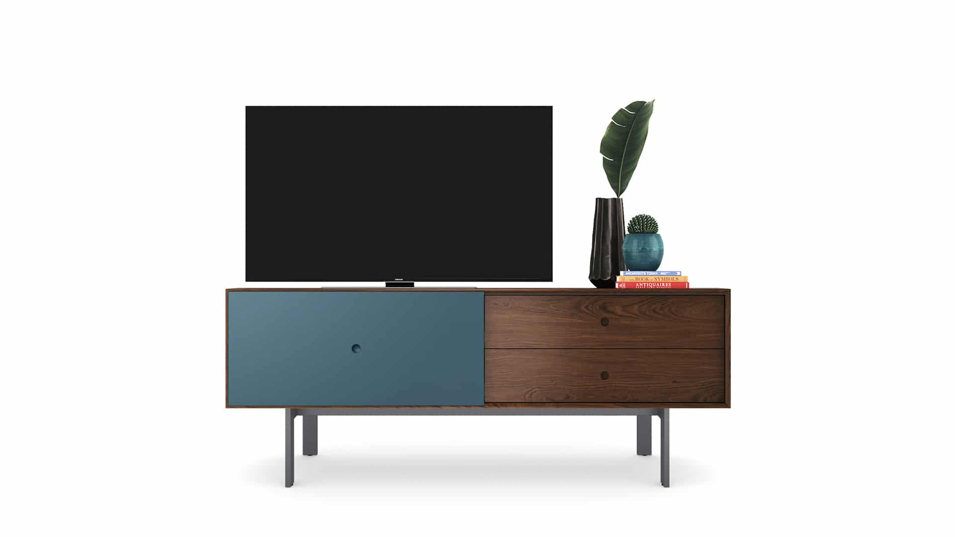 Margo 5229 Light Media Console & Storage Cabinet | BDI Furniture