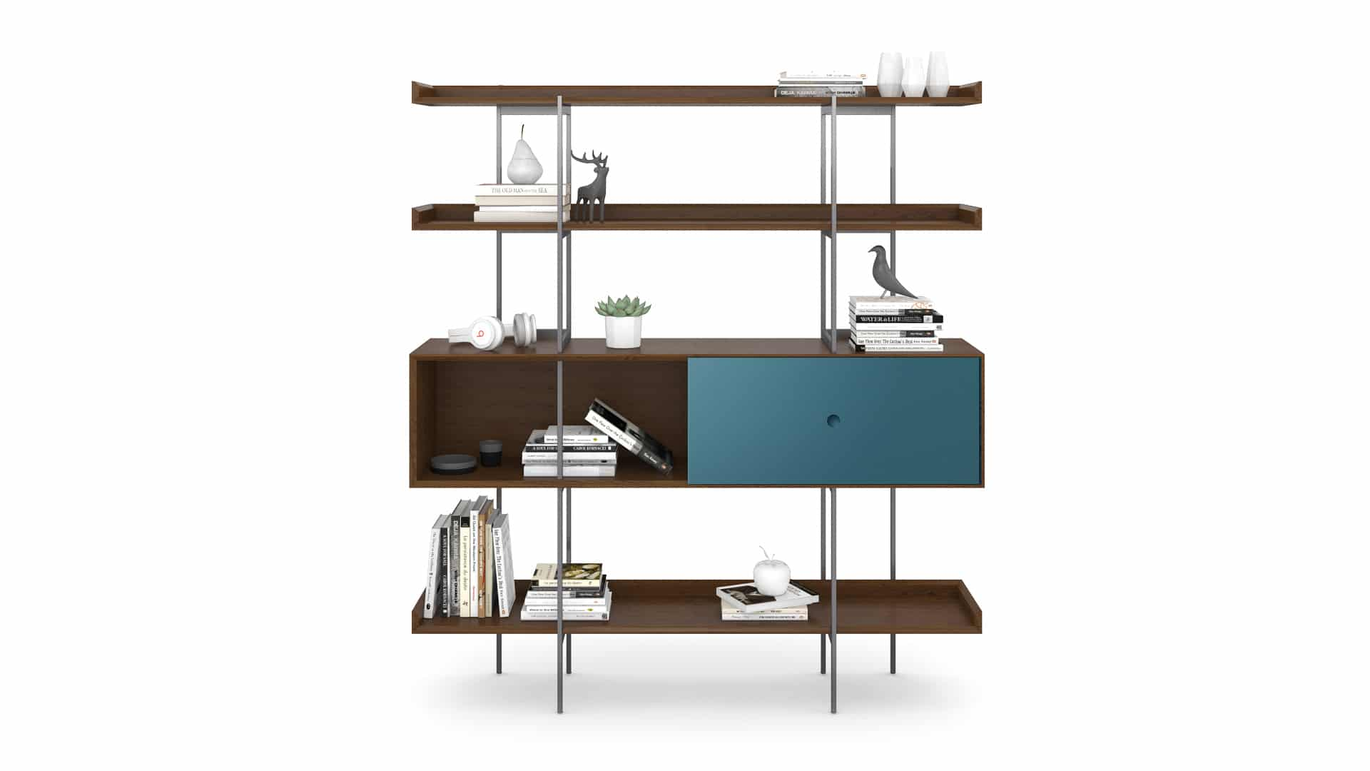 Margo 5201 Modern Display & Storage Shelf | BDI Furniture