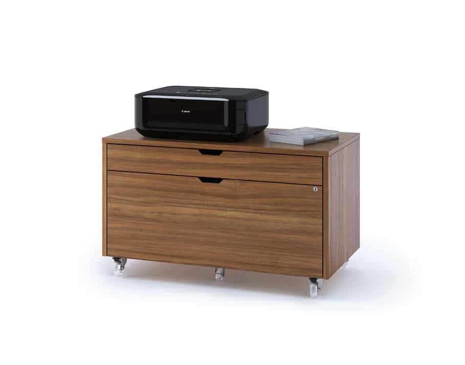 Modica 6347 Mobile Storage & File Pedestal | BDI Furniture