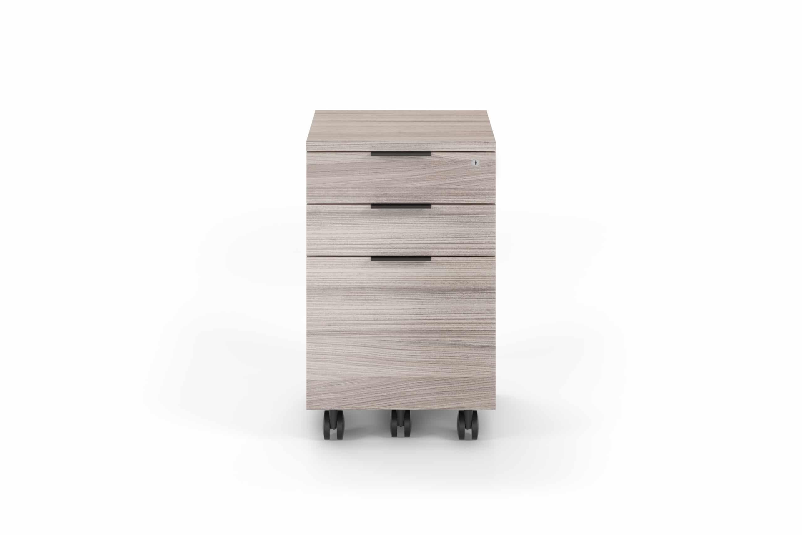 Sigma 6907 Low Mobile File Cabinet & Pedestal | BDI Furniture