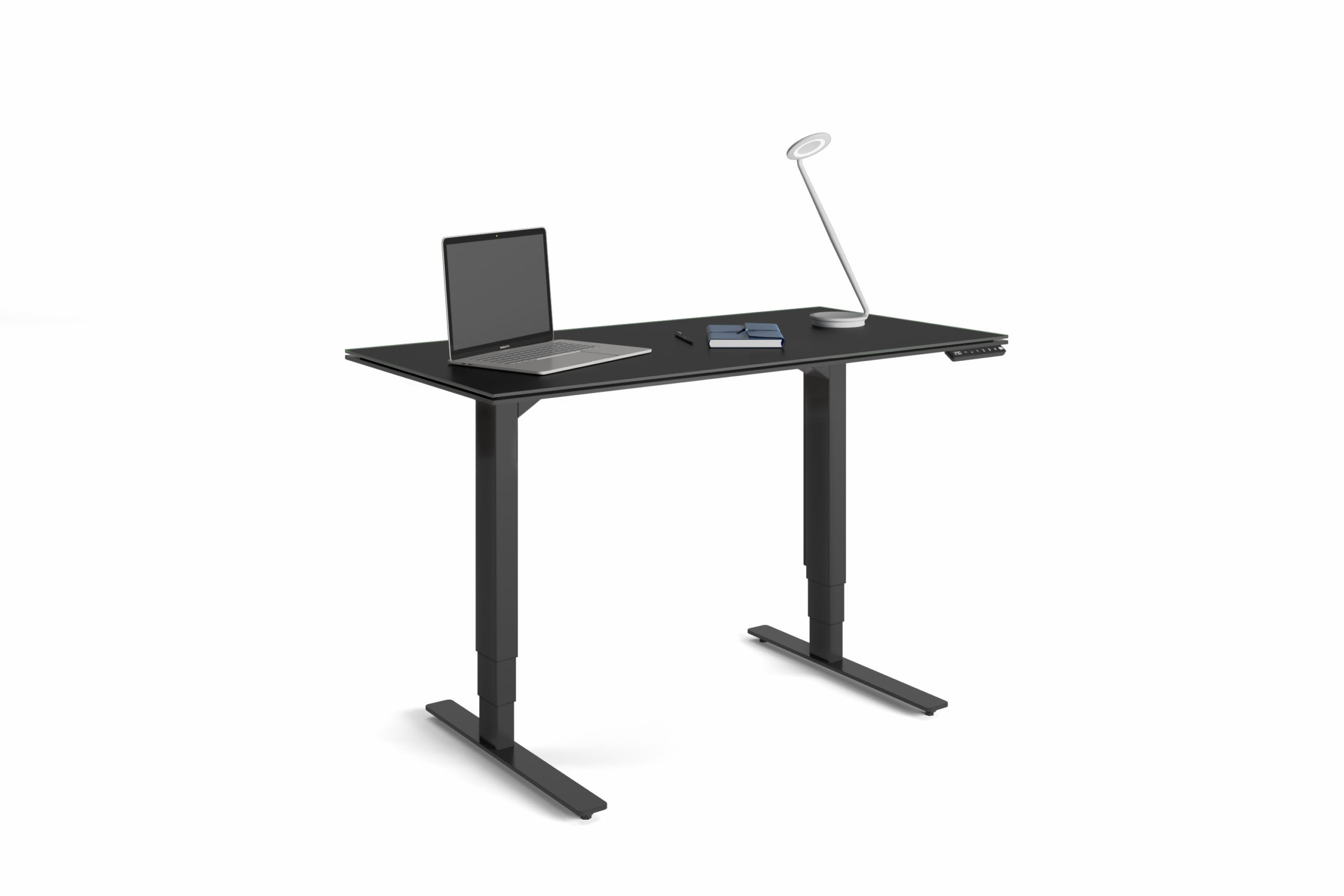Stance 6650 Small Height Adjustable Standing Desk | BDI Furniture