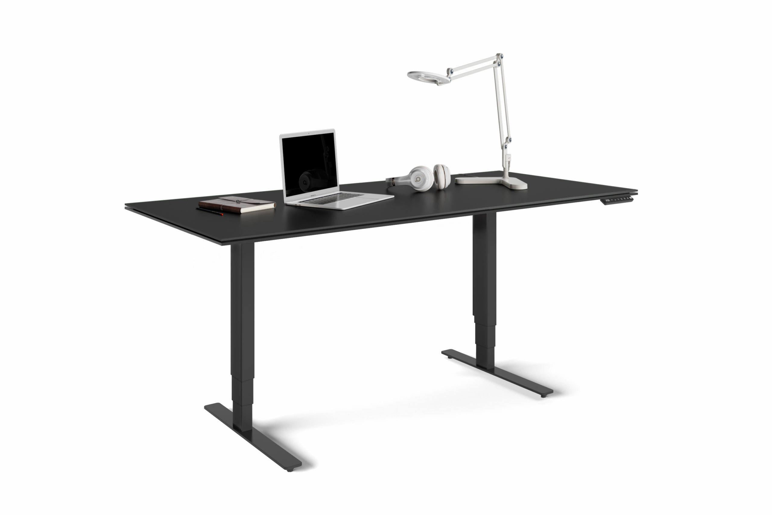 Stance 6652 Large Height Adjustable Standing Desk | BDI Furniture