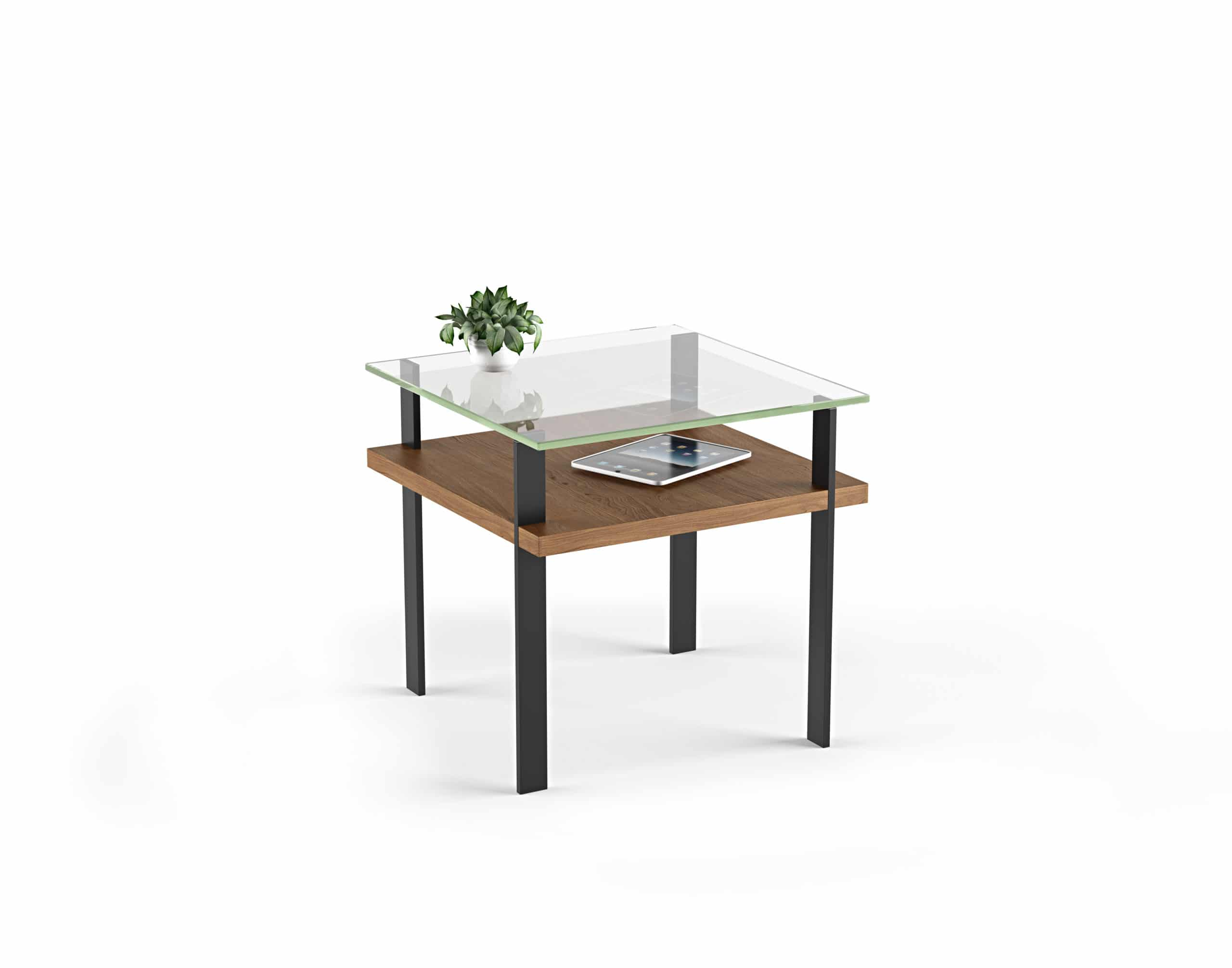 Terrace 1156 Modern Glass End Table | BDI Furniture