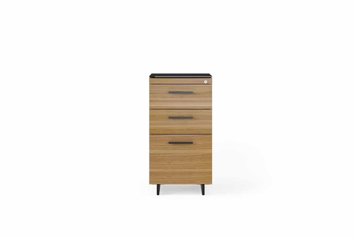 Sequel 20 6114 3 Drawer File & Storage Cabinet | BDI Furniture