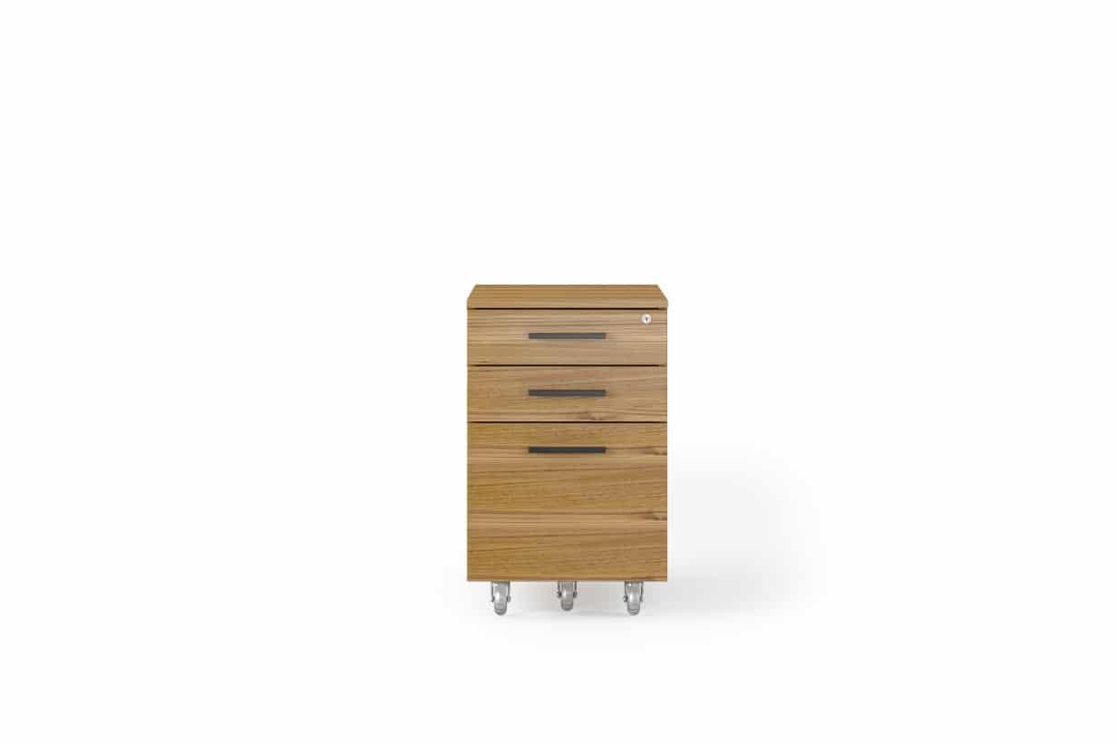 Sequel 20 6107 Mobile File Cabinet | BDI Furniture