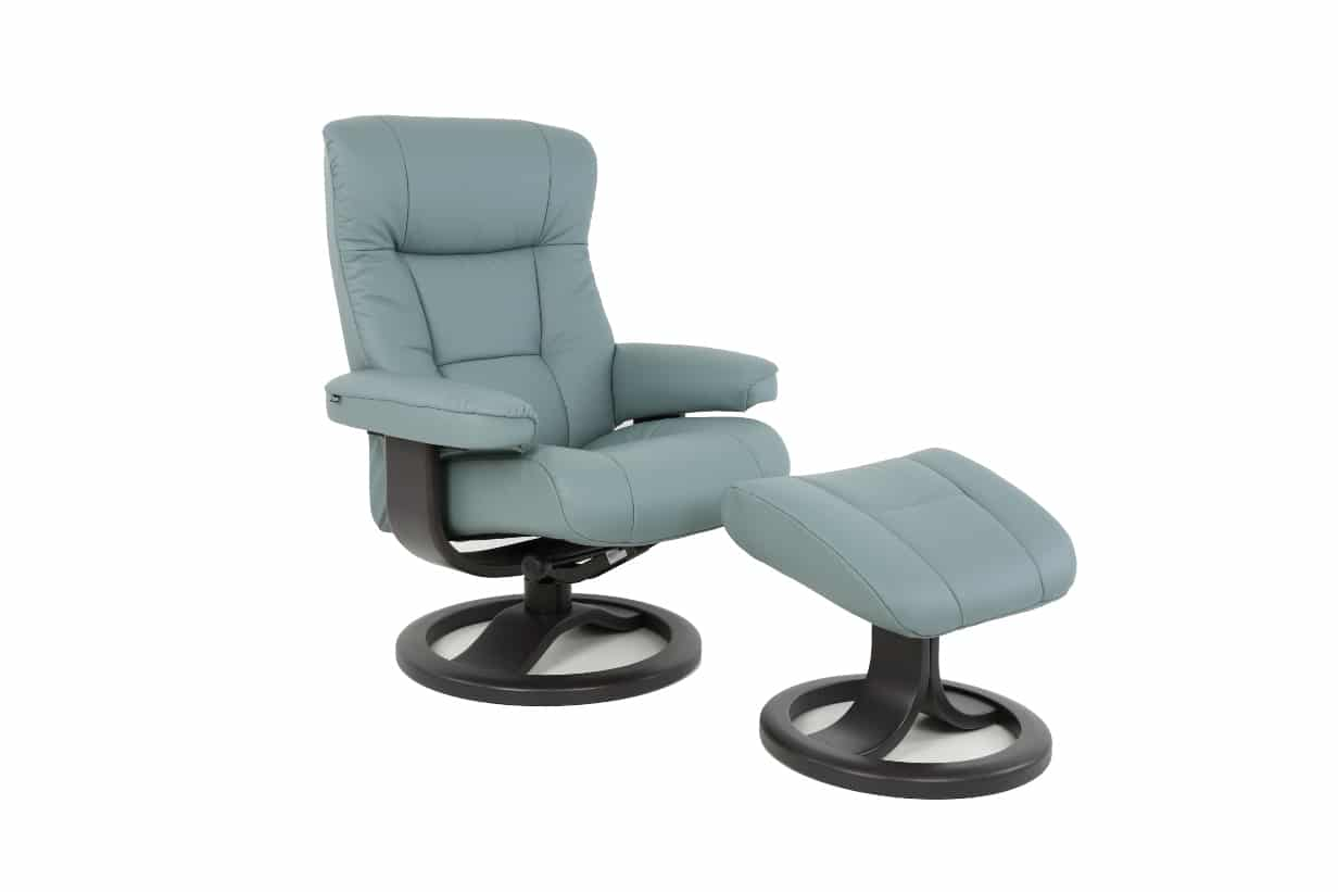 Manjana Recliner And Ottoman