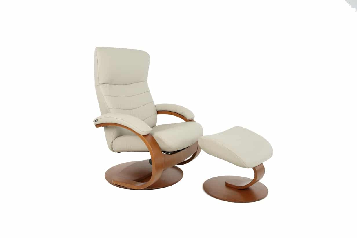 Trandal Recliner And Ottoman