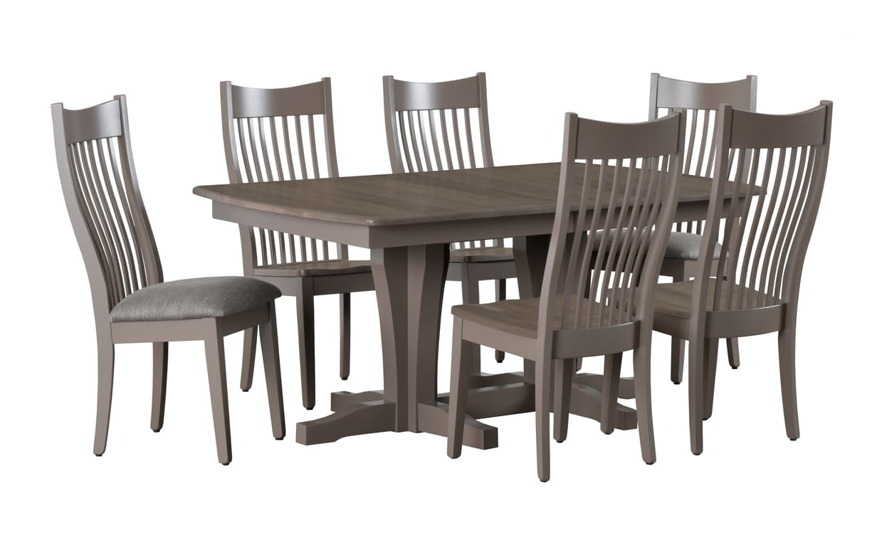 42″ X 60″ Newport Trestle Table