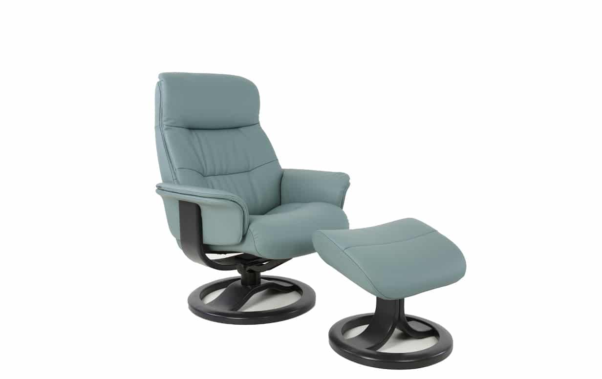 Anne Recliner And Ottoman